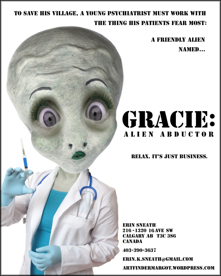 (moved from old blog) Gracie one-sheet