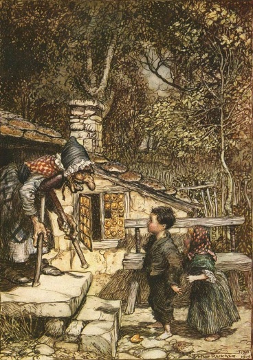 """Hansel-and-gretel-rackham"". Licensed under Public domain via Wikimedia Commons - http://commons.wikimedia.org/wiki/File:Hansel-and-gretel-rackham.jpg#mediaviewer/File:Hansel-and-gretel-rackham.jpg"